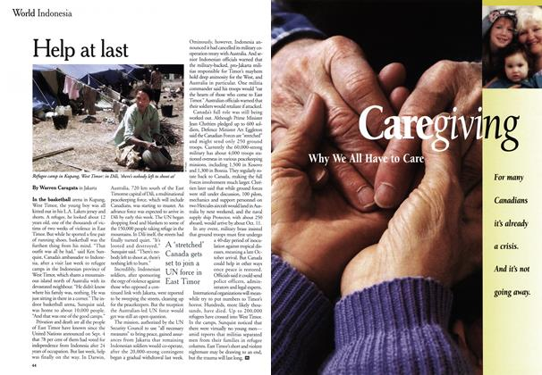 Article Preview: Help at last, September 1999 | Maclean's
