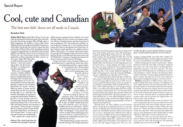 Article Preview: Cool, cute and Canadian, September 1999 | Maclean's