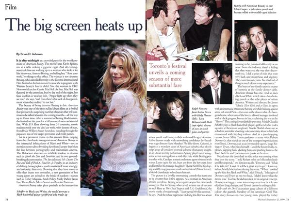 Article Preview: The big screen heats up, September 1999 | Maclean's