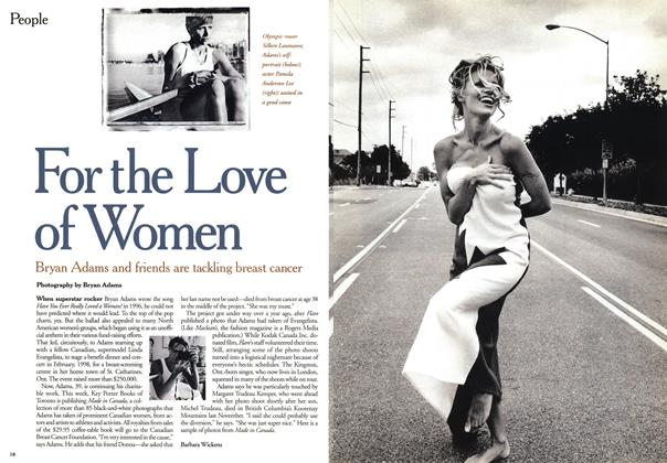 Article Preview: For the Love of Women, October 1999 | Maclean's