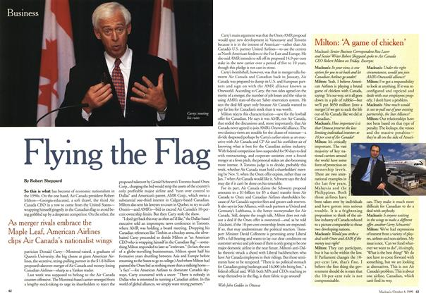 Article Preview: Flying the Flag, October 1999 | Maclean's