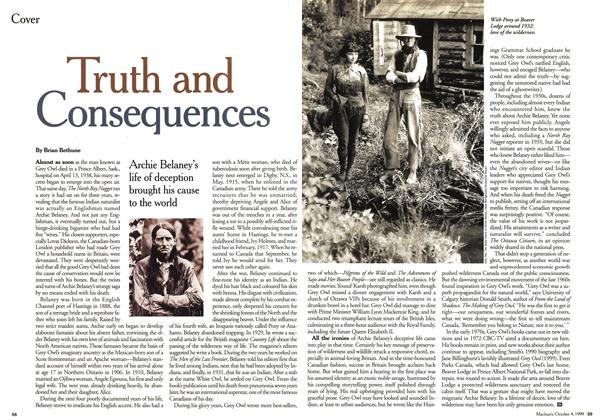 Article Preview: Truth and Consequences, October 1999 | Maclean's