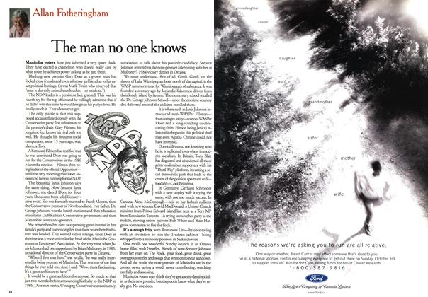 Article Preview: The man no one knows, October 1999 | Maclean's