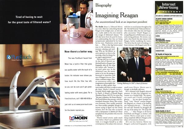 Article Preview: Imagining Reagan, October 1999 | Maclean's