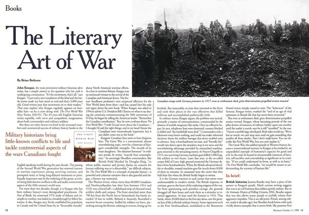 Article Preview: The Literary Art of War, October 1999 | Maclean's