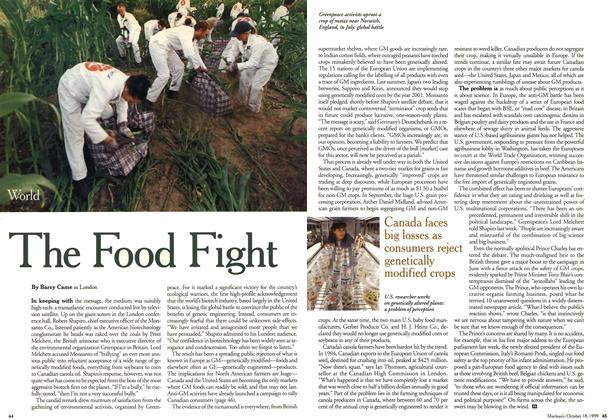 Article Preview: The Food Fight, October 1999 | Maclean's