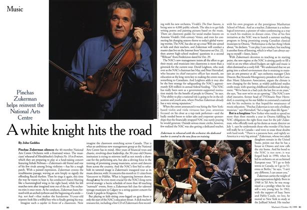 Article Preview: A white knight hits the road, October 1999 | Maclean's