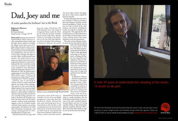 Article Preview: Dad, Joey and me, October 1999 | Maclean's