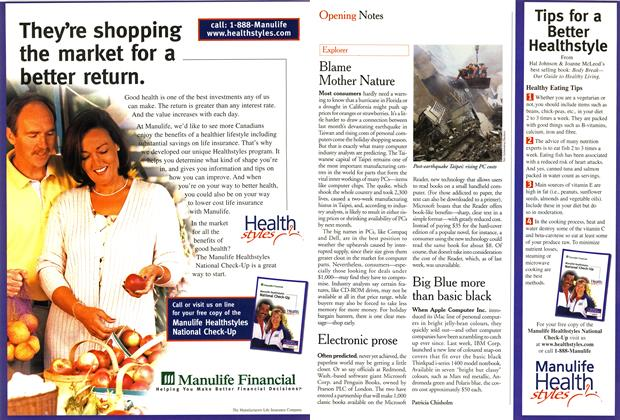 Article Preview: Explorer, October 1999 | Maclean's