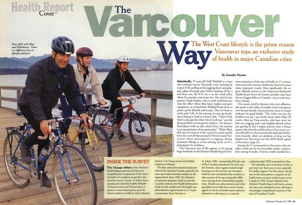 Article Preview: The Vancouver Way, October 1999 | Maclean's