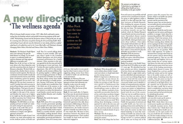 Article Preview: A new direction: 'The wellness agenda', October 1999 | Maclean's