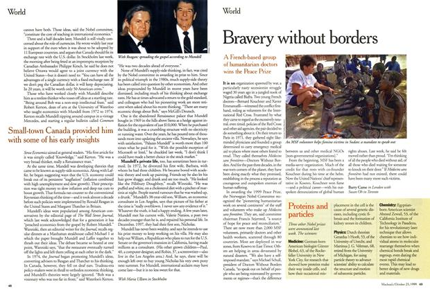 Article Preview: Bravery without borders, October 1999 | Maclean's