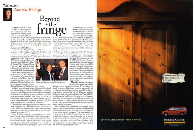 Article Preview: Beyond the fringe, October 1999 | Maclean's