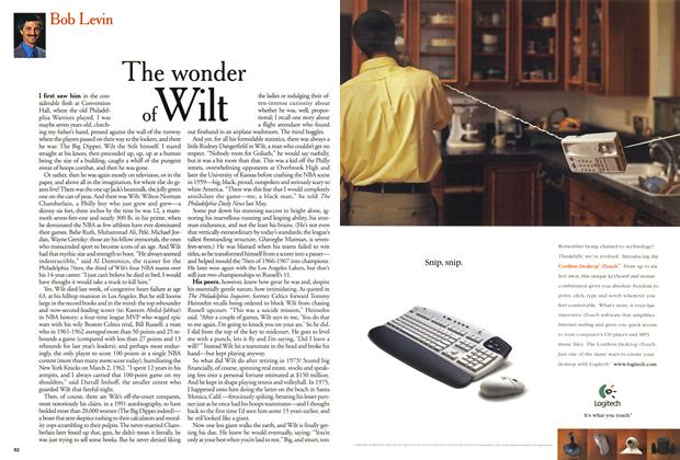 Article Preview: The wonder of Wilt, October 1999 | Maclean's