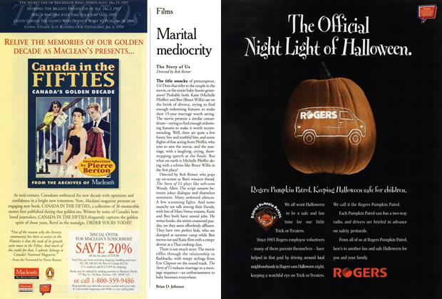 Article Preview: Marital mediocrity, October 1999 | Maclean's
