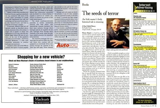 Article Preview: The seeds of terror, October 1999 | Maclean's