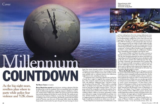 Article Preview: Millennium COUNTDOWN, November 1999 | Maclean's