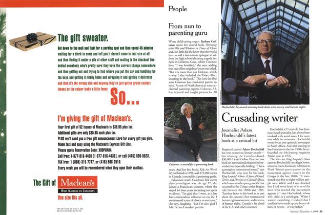 Article Preview: People, November 1999 | Maclean's