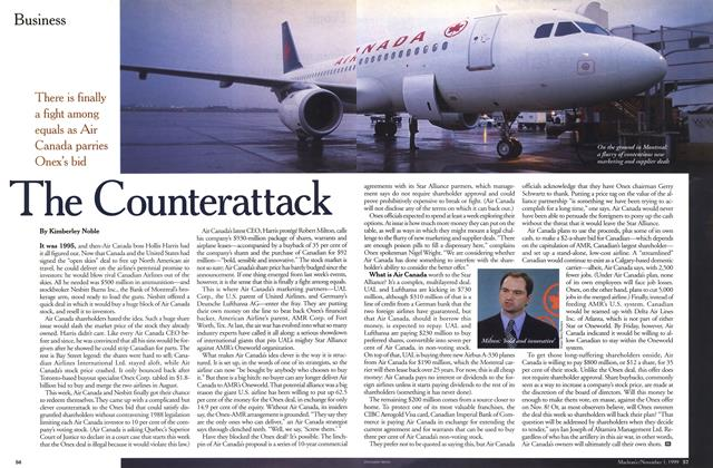 Article Preview: The Counterattack, November 1999 | Maclean's
