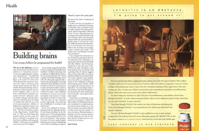 Article Preview: Building brains, November 1999 | Maclean's