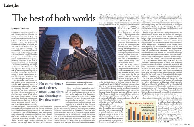 Article Preview: The best of both worlds, November 1999 | Maclean's