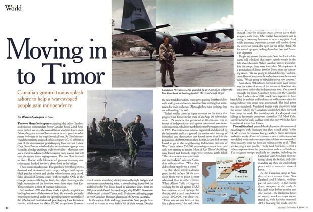 Article Preview: Moving in to Timor, November 1999 | Maclean's