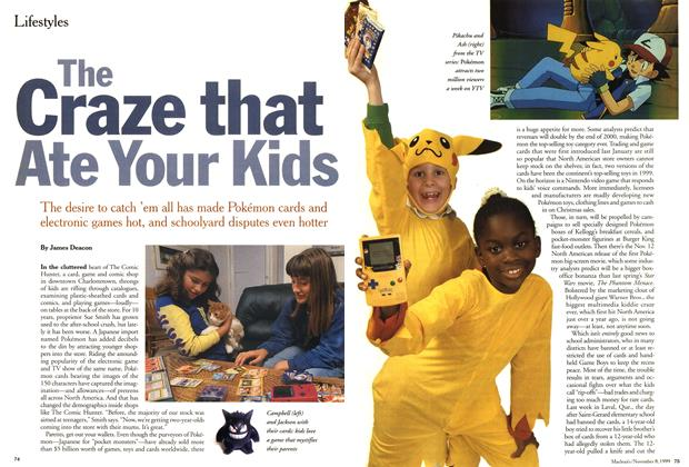 Article Preview: The Craze that Ate Your Kids, November 1999 | Maclean's