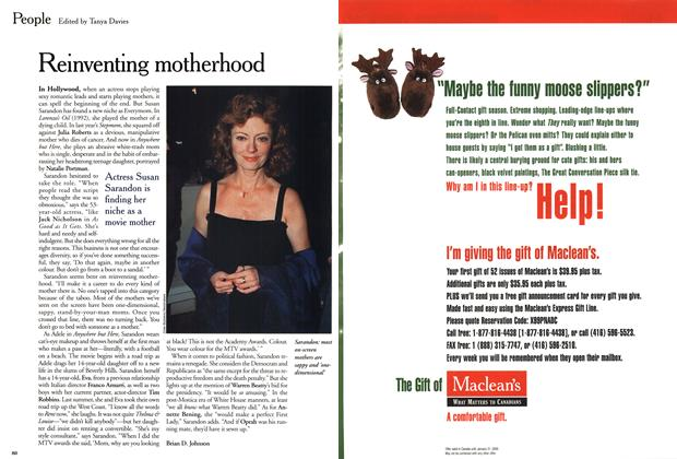 Article Preview: Reinventing motherhood, November 1999 | Maclean's