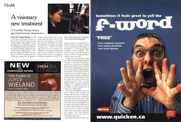 Article Preview: A visionary new treatment, November 1999 | Maclean's