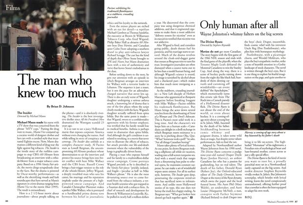 Article Preview: Only human after all, November 1999 | Maclean's