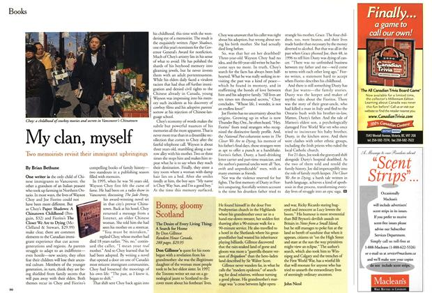 Article Preview: My clan, myself, November 1999 | Maclean's