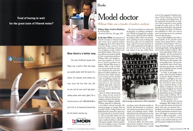 Article Preview: Model doctor, November 1999 | Maclean's