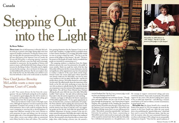 Article Preview: Stepping Out into the Light, November 1999 | Maclean's