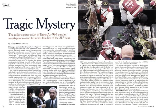 Article Preview: Tragic Mystery, November 1999 | Maclean's