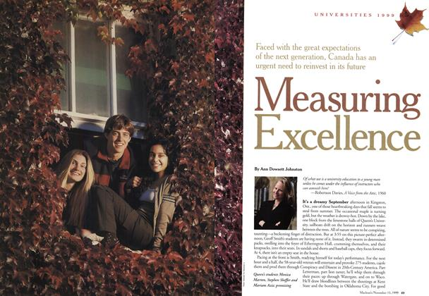 Article Preview: Measuring Excellence, November 1999 | Maclean's