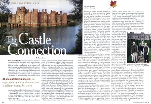 Article Preview: The Castle Connection, November 1999 | Maclean's