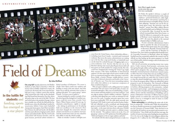 Article Preview: Field of Dreams, November 1999 | Maclean's