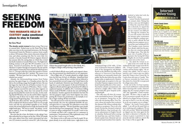 Article Preview: SEEKING FREEDOM, November 1999   Maclean's