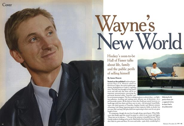 Article Preview: Wayne's New World, November 1999 | Maclean's