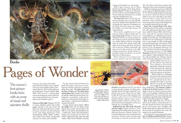 Article Preview: Pages of Wonder, November 1999 | Maclean's