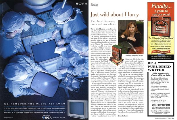 Article Preview: Just wild about Harry, November 1999 | Maclean's