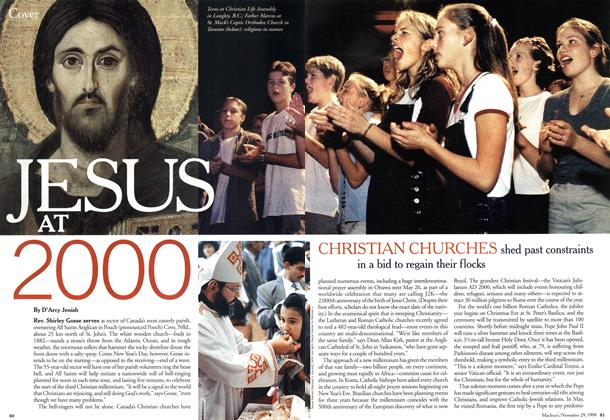 Article Preview: JESUS AT 2000, November 1999 | Maclean's