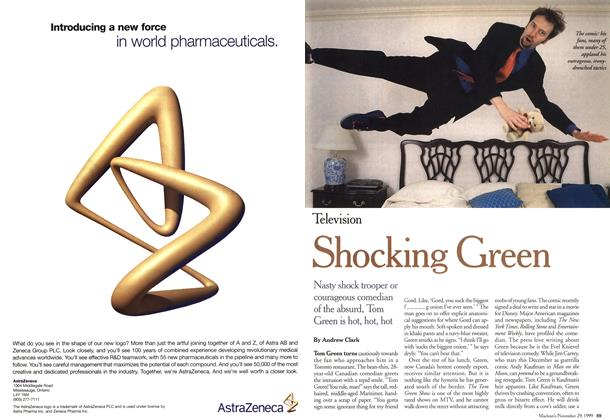 Article Preview: Shocking Green, November 1999 | Maclean's