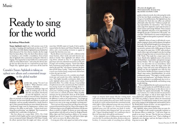 Article Preview: Ready to sing for the world, November 1999 | Maclean's