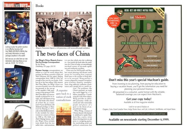 Article Preview: The two faces of China, November 1999 | Maclean's