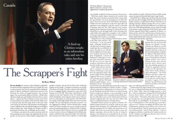Article Preview: The Scrapper's Fight, December 1999 | Maclean's