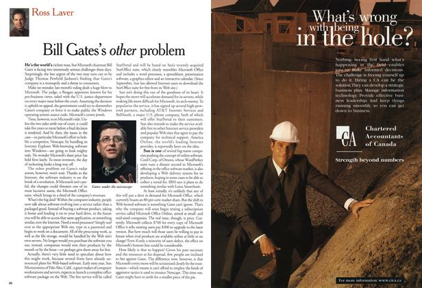 Article Preview: Bill Gates's other problem, December 1999 | Maclean's