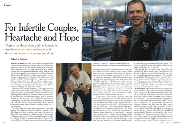 Article Preview: For Infertile Couples, Heartache and Hope, December 1999   Maclean's