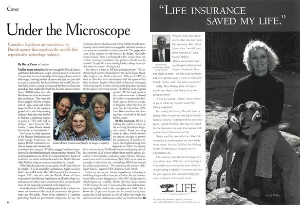 Article Preview: Under the Microscope, December 1999 | Maclean's