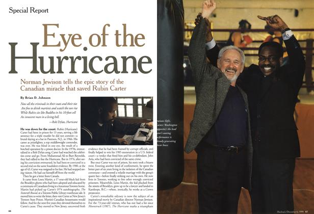 Article Preview: Eye of the Hurricane, December 1999 | Maclean's